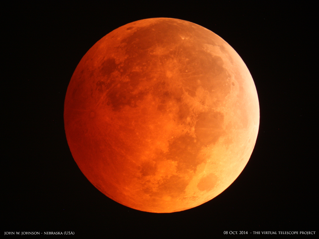 Blood Moon Eclipse October 8 2014